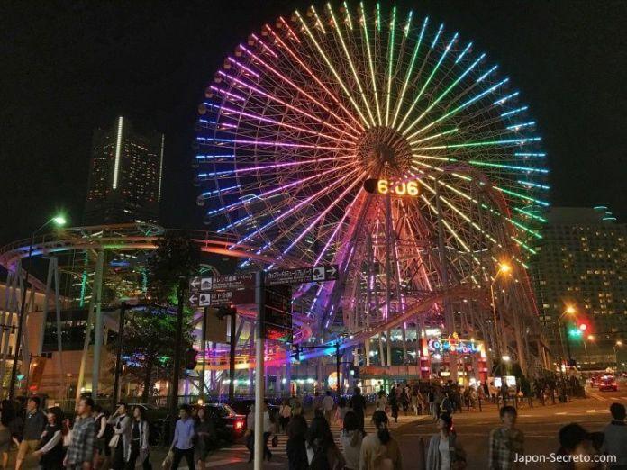 Noria Cosmo World de Minato Mirai. Yokohama (Japón). Una gran excursión desde Tokio