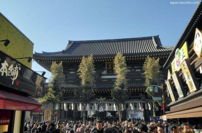 Templo Heiken-ji o Kawasaki Daishi (Kawasaki) en Año Nuevo. Una buena excursión desde Tokio