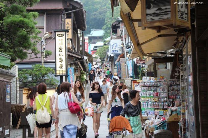 Isla de Enoshima (Kamakura, Japón)