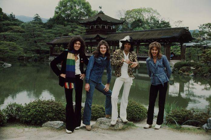 Queen en Japón. Abril de 1975
