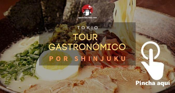 Tour gastronómico por el barrio de Shinjuku (Tokio)