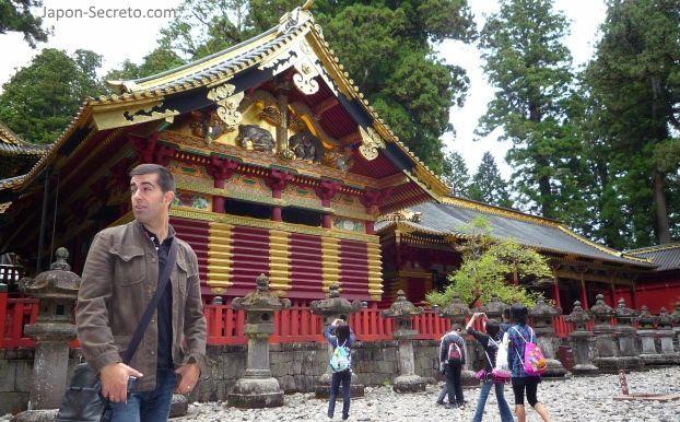Visitando Nikko en octubre de 2009
