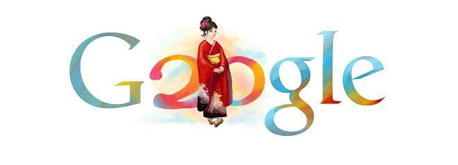 """Día de la Mayoría de Edad (成人の日, """"Seijin No Hi""""). Google Doodle 2010"""