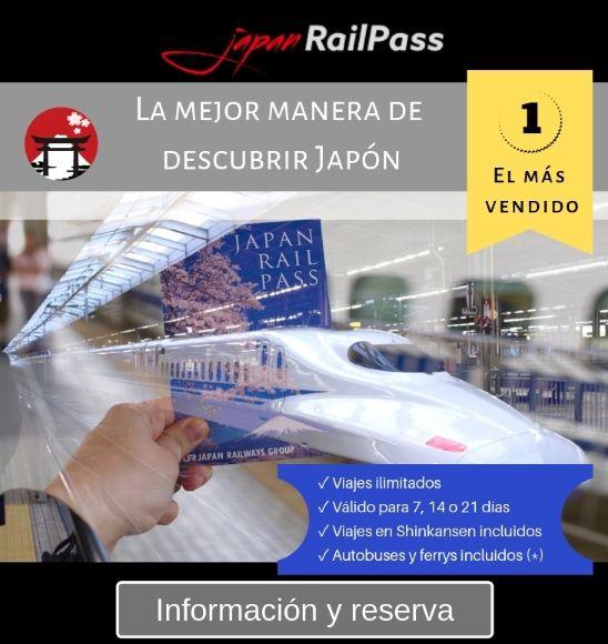 JR Pass, pase de trenes ilimitados por Japón