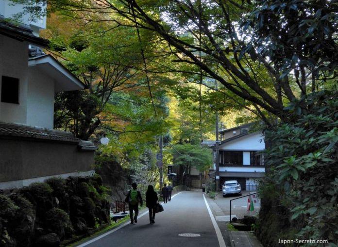Viaje a Kibune (Kioto).
