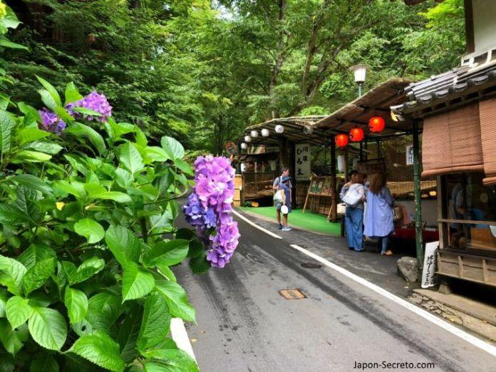 Kibune (Kioto) en verano.