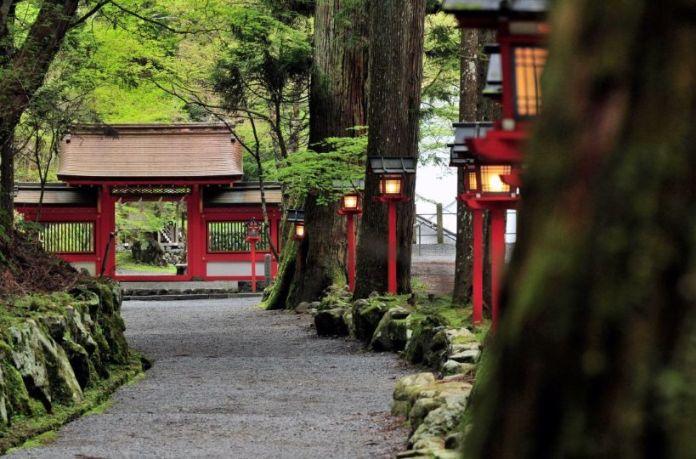 Okumiya. Santuario Kifune (Kibune, Kioto)