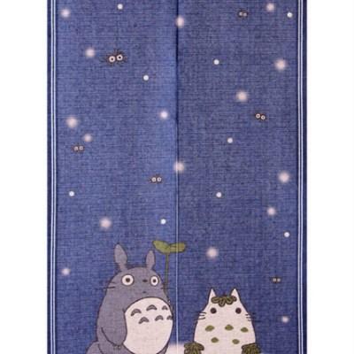 Noren Totoro sous la neige
