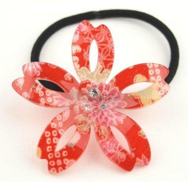 Elastique à cheveux Sakura (Fleur de cerisier)