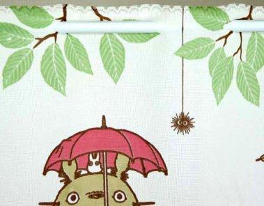 Brise vue Totoro et glands