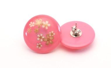 Boucles d'oreilles Wadama acrylique Sakura