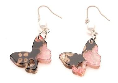 Boucles d'oreilles Petit papillon