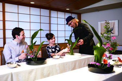 Ikebana workshop by renownd artist