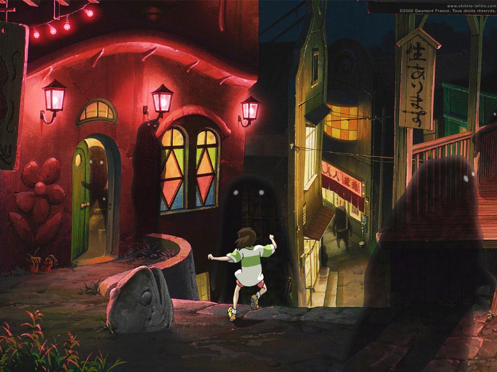 Le voyage de Chihiro - les lieux qui ont inspiré le film à Jiufen