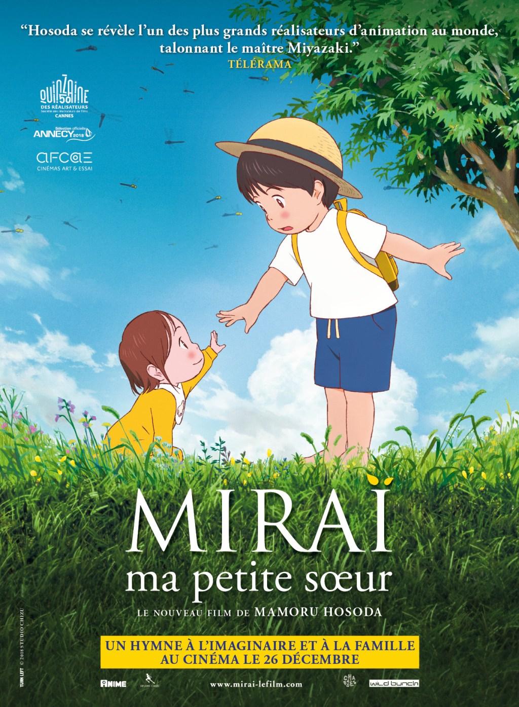 Critique Du Film Miraï Ma Petite Sœur Japon Cinema