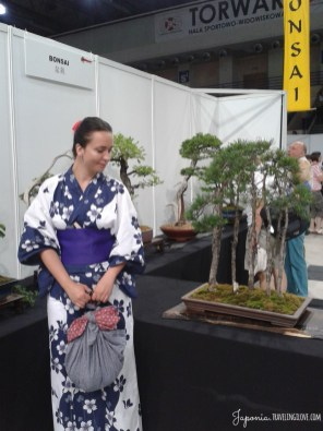 Me, furoshiki & bonsai exhibition