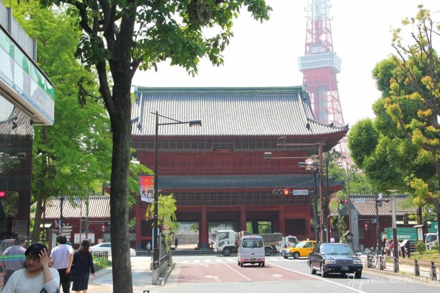 Setsubun w świątyni Zojo-ji