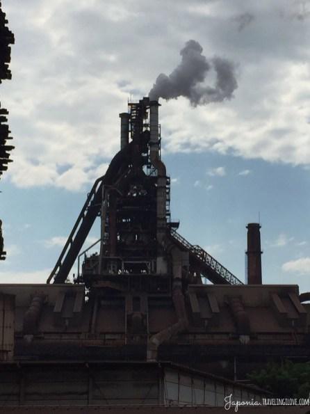 Nagoja - największa huta stali w Japonii (3)