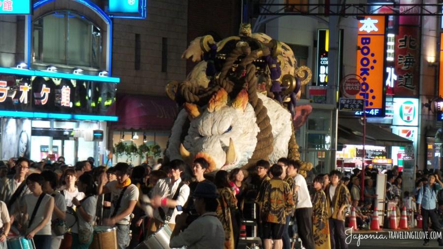 Ueno Matsuri - letni festiwal w dzielnicy Ueno, Tokio