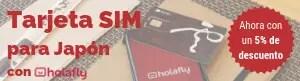 SIM para Internet en Japón con descuento