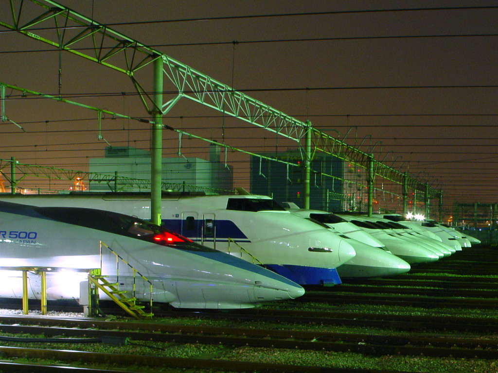 Shinkansen T G V Japonais