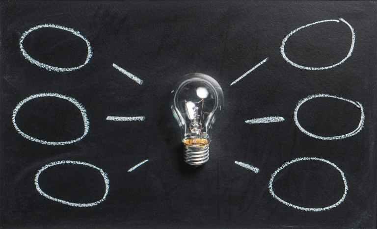 clear light bulb