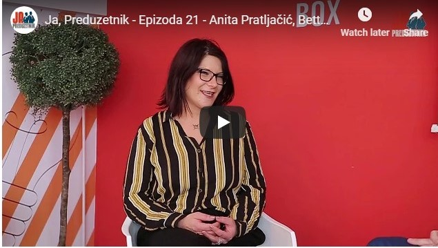 Ja, Preduzetnik – Epizoda 21 – Anita Pratljačić, Betterhow