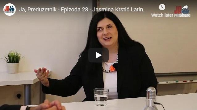 Ja, Preduzetnik – Epizoda 28 – Jasmina Krstić Latinović, Pro PR