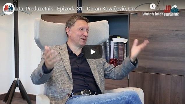 Ja, Preduzetnik – Epizoda 31 –  Goran Kovačević, Gomex