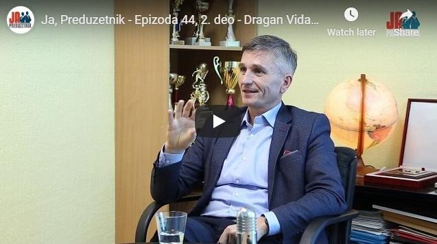Ja, Preduzetnik – Epizoda 44, 2. deo – Dragan Vidaković, Impel