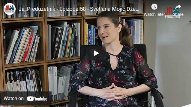 Ja, Preduzetnik – Epizoda 58 – Svetlana Mojić Džakula, Salt & Water