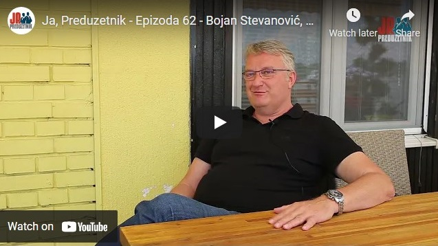 Ja, Preduzetnik – Epizoda 62 – Bojan Stevanović, Hauzmajstor, 1. deo