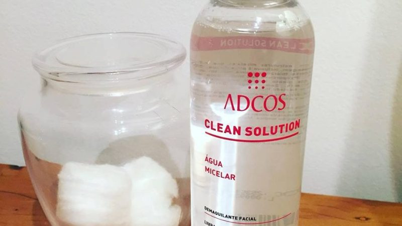 Água Micelar ADCOS: novidade na limpeza da pele