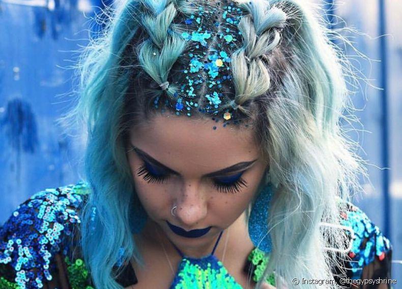 Glitter - A melhor aposta para incrementar os penteados de carnaval!