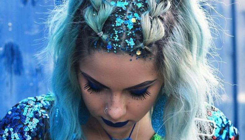 Glitter – A melhor aposta para incrementar os penteados de carnaval!