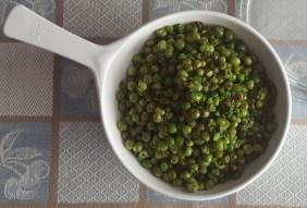 Fried Green Peas (Жареный зеленый горох)