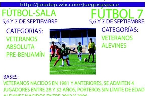Fútbol7 y Fútbol Sala - ProAspace
