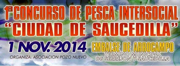 I Concurso de pesca Intersocial - Ciudad de Saucedilla - 300 X 300