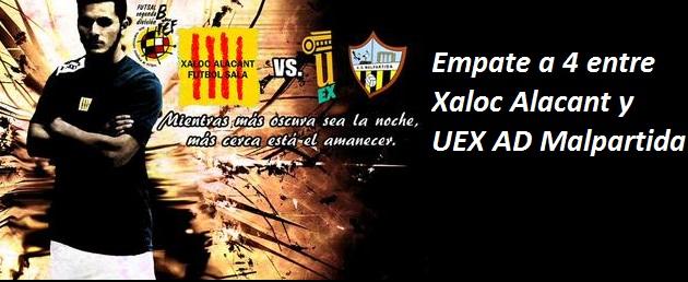 Xaloc Alacant - Uex AD Malpartida