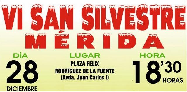 VI San Silvestre de Mérida 2014
