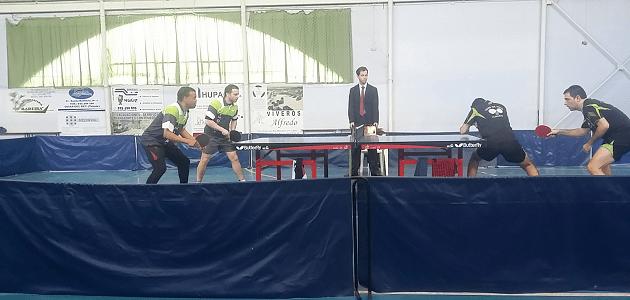 Tenis de mesa Olias del Rey vs Tenis de mesa Almaraz .