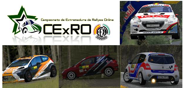 Primera prueba del Campeonato de Extremadura de Rallyes Online. Resultados del III Tramo Cronometrado Villa de Feria.