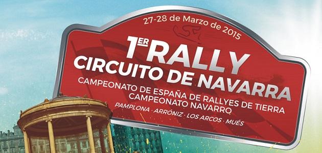 Cartel I Rally Circuito de Navarra