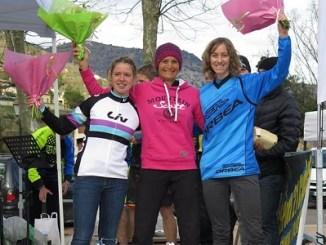 """Eva Garrido de Jaraíz de la Vera queda en tercera posición en el """"1001 Urge Enduro Tour"""" en Sospel (Francia)."""