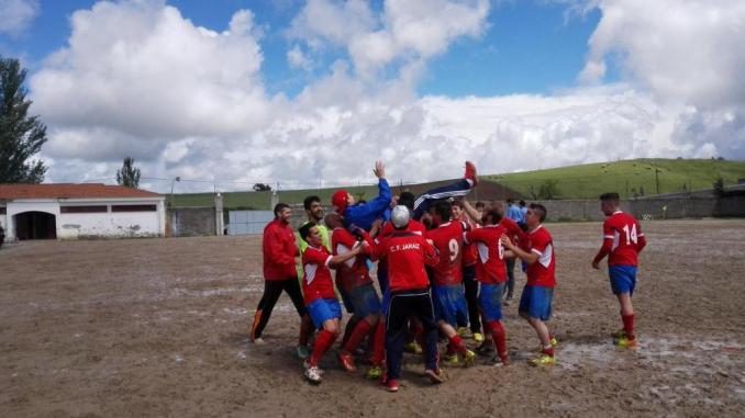 CF Jaraíz campeón de liga de Primera Regional del grupo IV