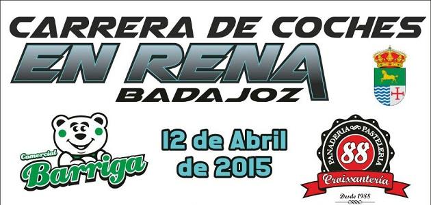 Carrera de coches en Rena - Badajoz