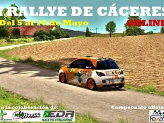 I Rallye de Cáceres Online