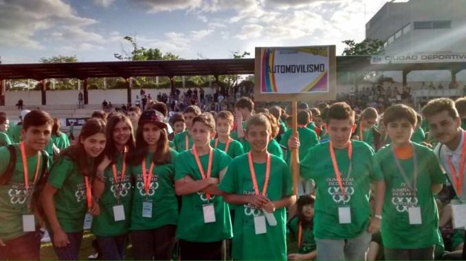 El automovilismo presente en las IV Olimpiadas Escolares en Cáceres