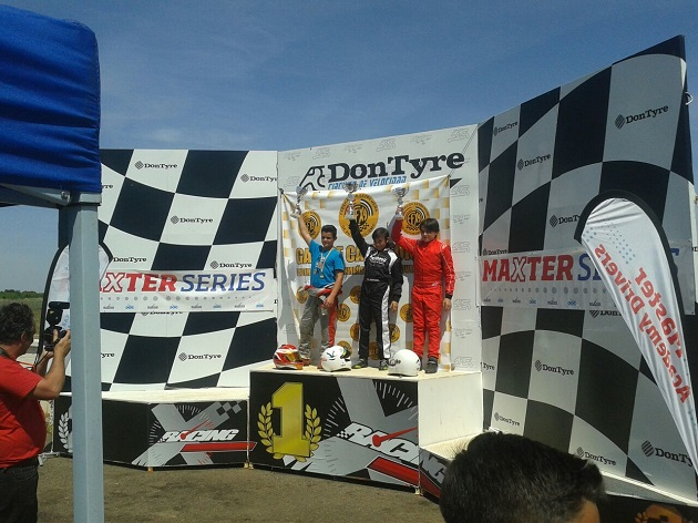 Podio Junior - I Trofeo Maxter Extremadura