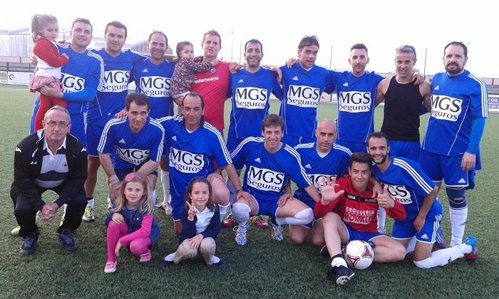 San Andrés de Navalmoral, Campeón de Liga de Fútbol Veteranos 2014-2015